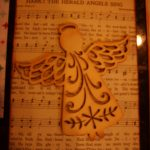 Up-cycled hymnal pages